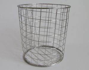 stainless steel gopher basket 1 gallon size