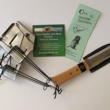 cinch gopher mole trap starter kit