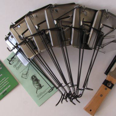 cinch gopher mole trap super starter kit